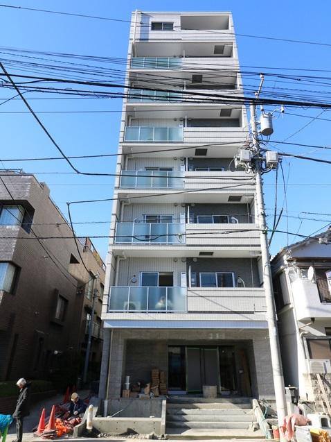 東京都中央区、越中島駅徒歩10分の新築 8階建の賃貸マンション
