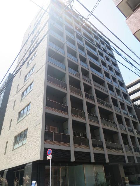 東京都中央区、茅場町駅徒歩7分の新築 11階建の賃貸マンション