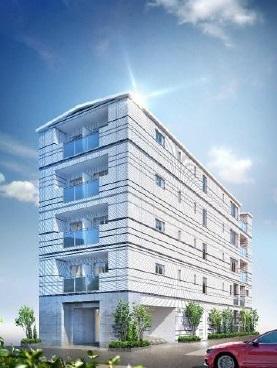 東京都中央区、越中島駅徒歩18分の新築 5階建の賃貸マンション