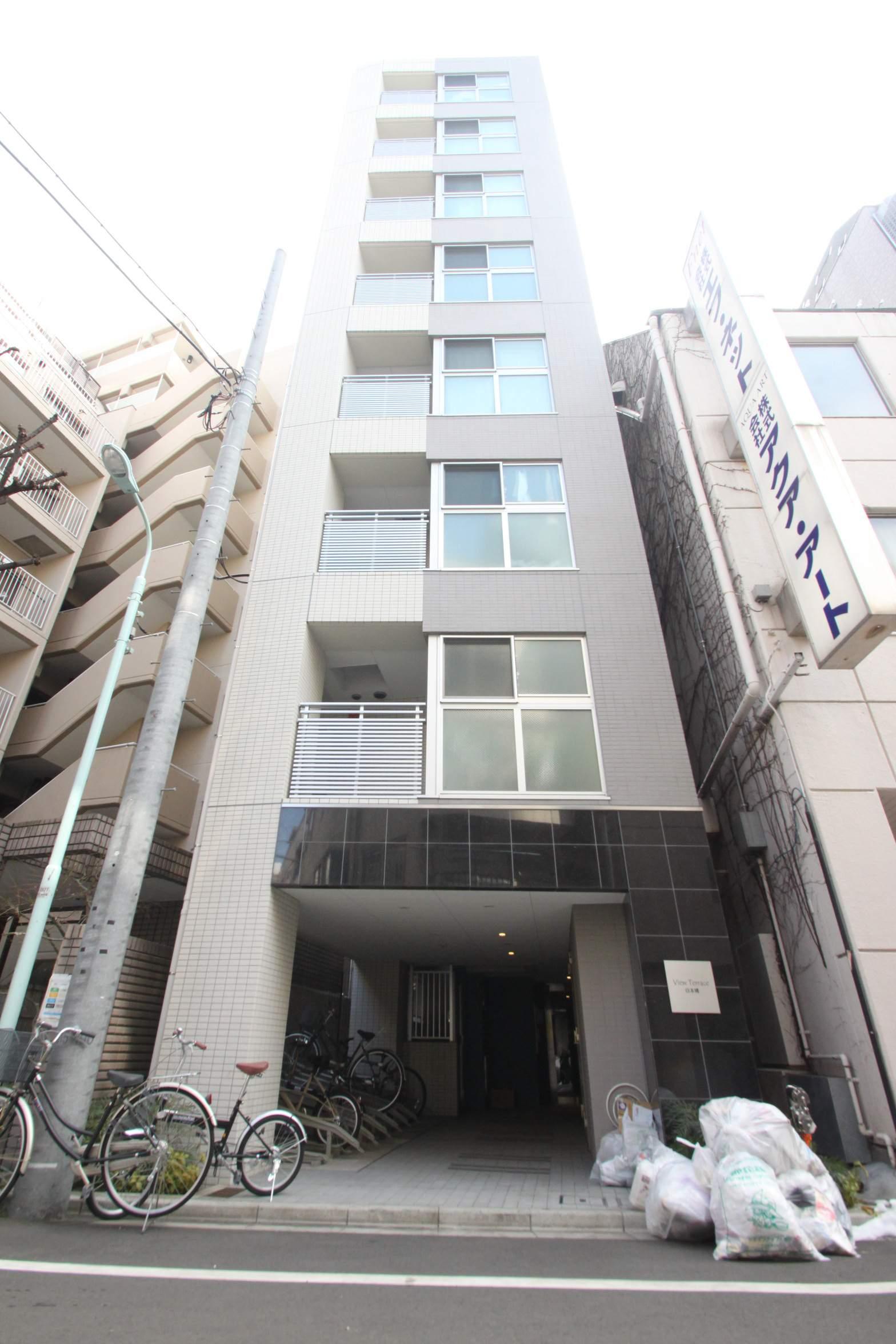 東京都中央区、人形町駅徒歩14分の築4年 8階建の賃貸マンション