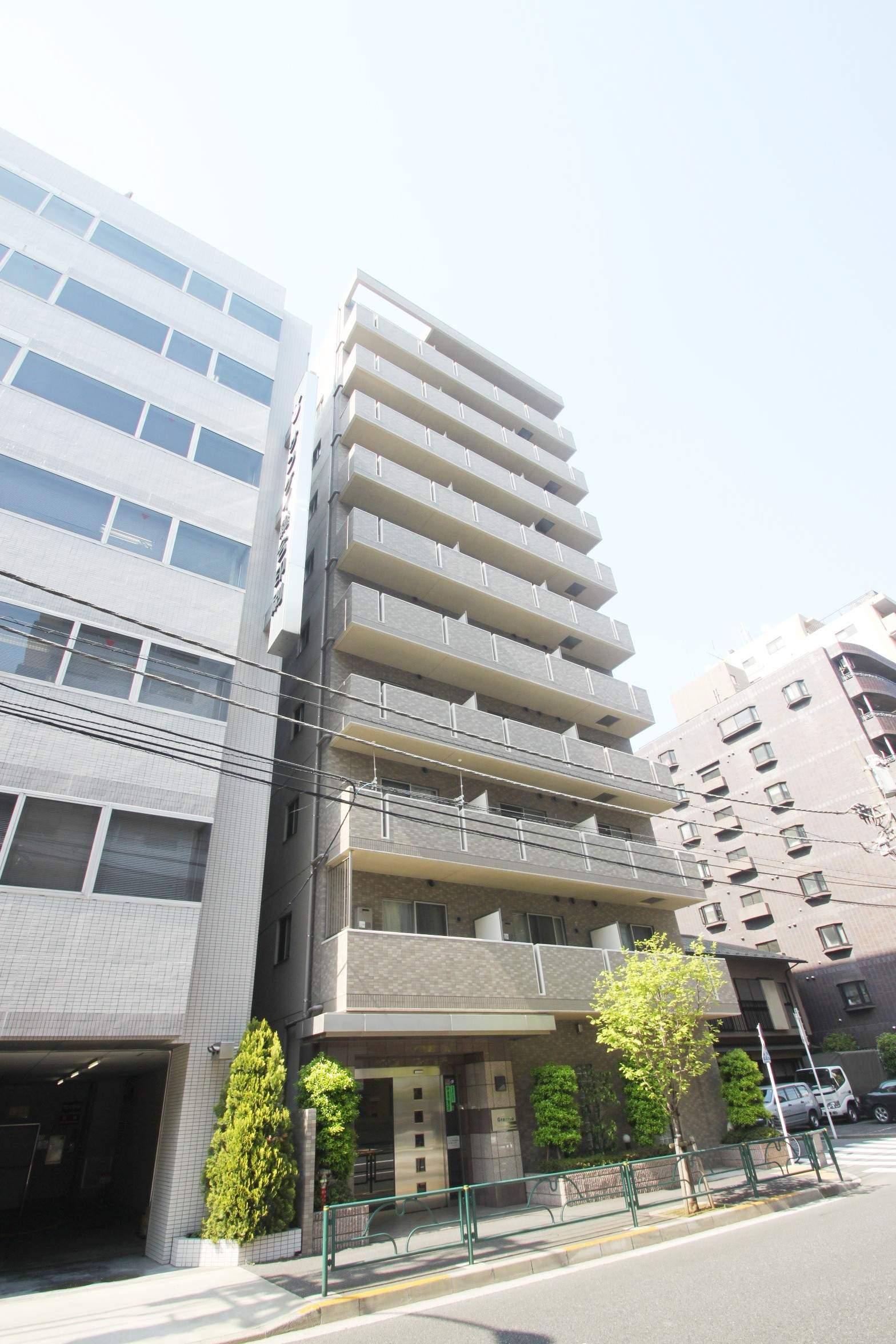 東京都江東区、越中島駅徒歩12分の築13年 10階建の賃貸マンション