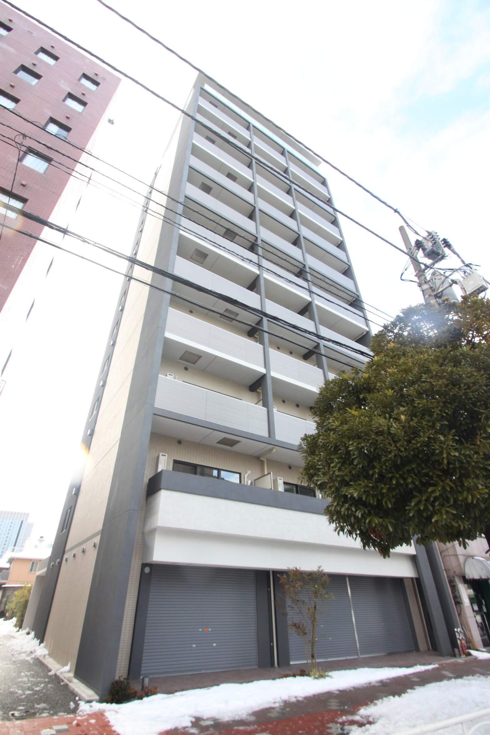 東京都江東区、門前仲町駅徒歩18分の築3年 12階建の賃貸マンション