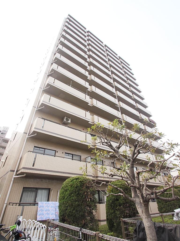 東京都江東区、東陽町駅徒歩18分の築25年 14階建の賃貸マンション