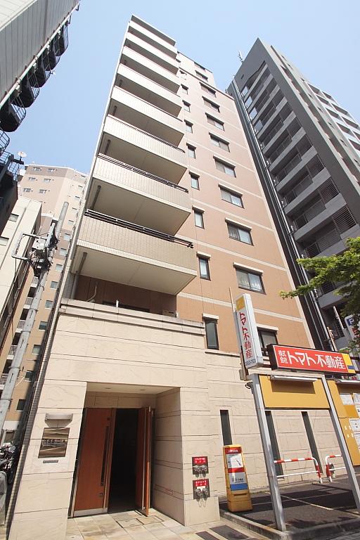 東京都中央区、八丁堀駅徒歩3分の築14年 14階建の賃貸マンション