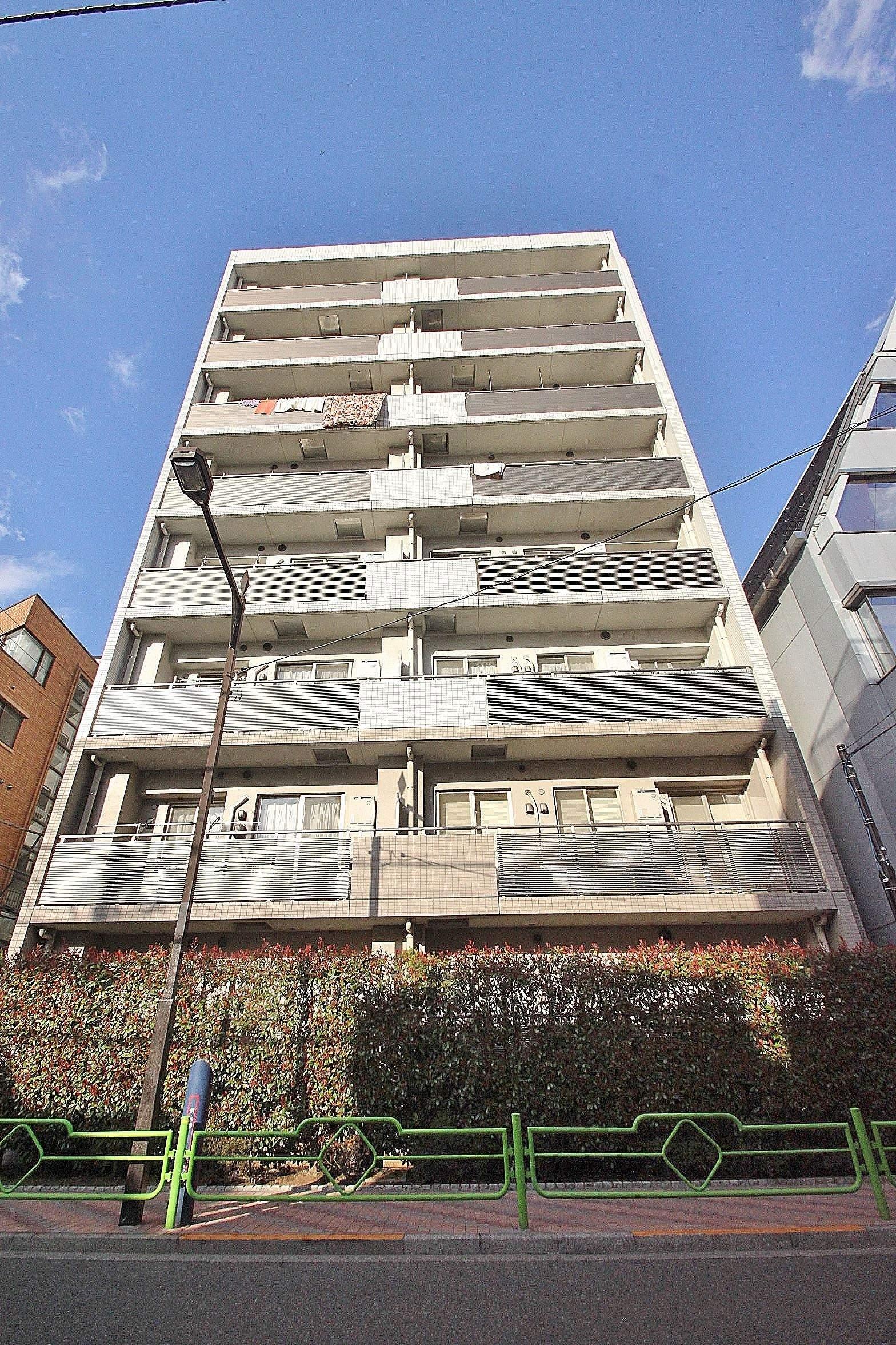 東京都中央区、越中島駅徒歩9分の築12年 8階建の賃貸マンション