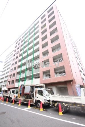 東京都江東区、豊洲駅徒歩9分の築12年 10階建の賃貸マンション