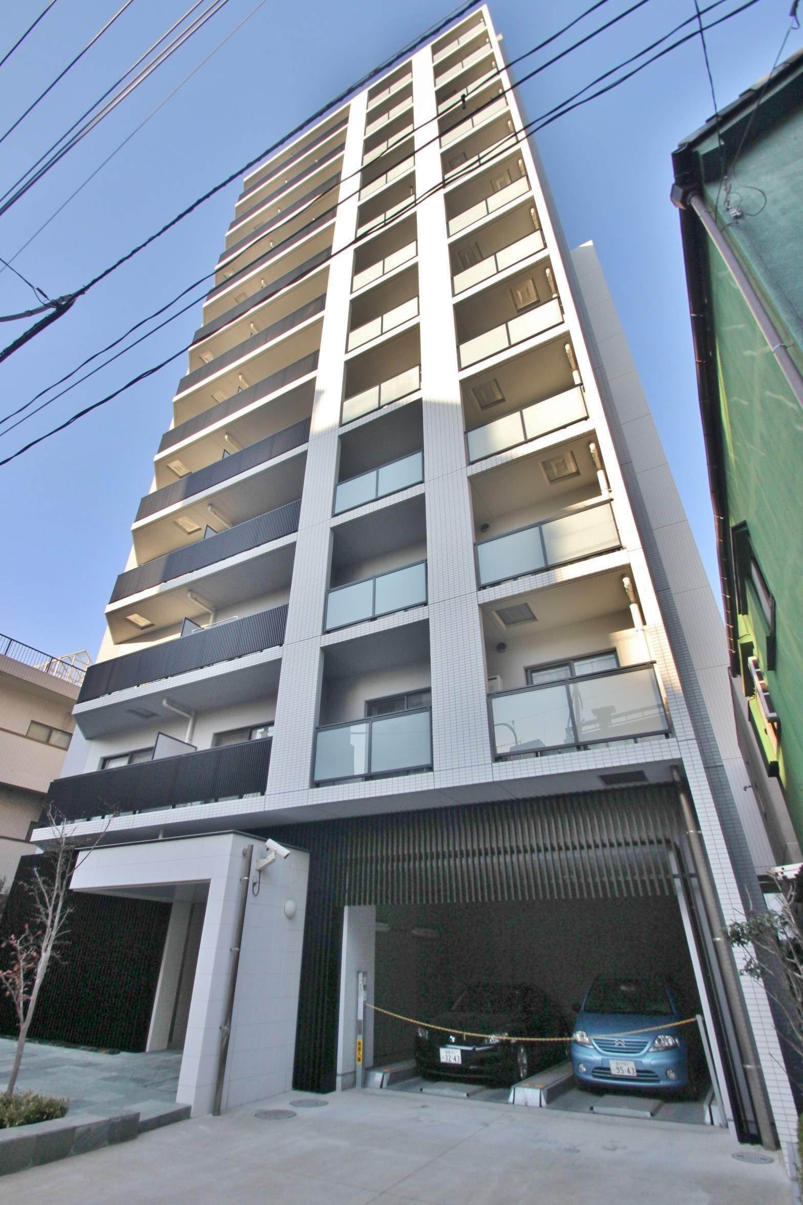 東京都江東区、越中島駅徒歩12分の築9年 12階建の賃貸マンション