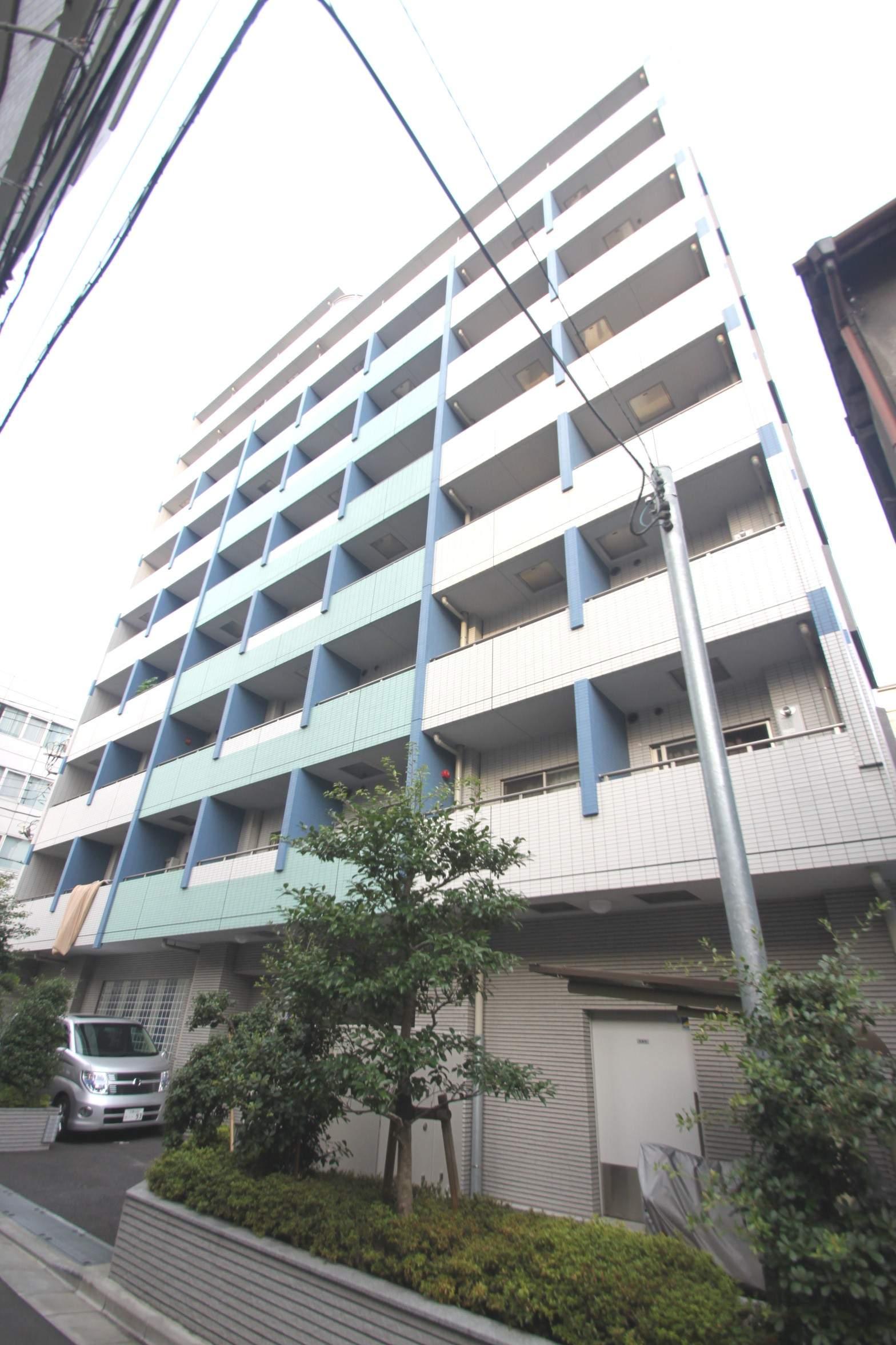 東京都江東区、越中島駅徒歩5分の築10年 9階建の賃貸マンション