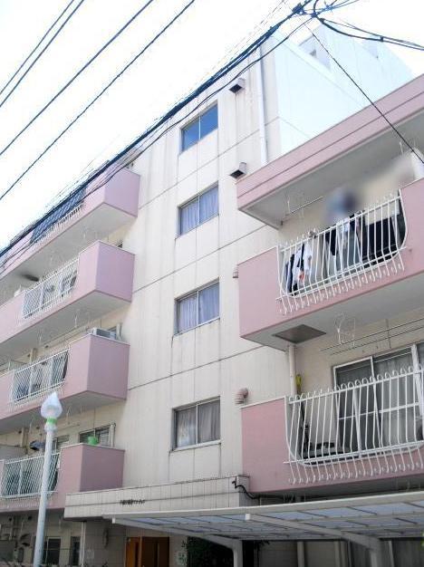 東京都新宿区、早稲田駅徒歩8分の築40年 6階建の賃貸マンション