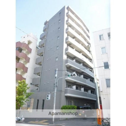 東京都新宿区、早稲田駅徒歩2分の築19年 9階建の賃貸マンション