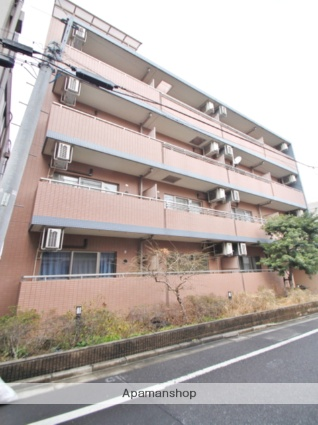 東京都新宿区、早稲田駅徒歩6分の築14年 5階建の賃貸マンション