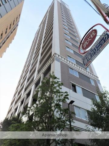 東京都新宿区、新宿駅徒歩14分の築9年 24階建の賃貸マンション