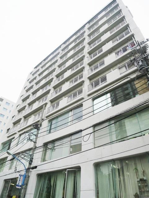 東京都新宿区、若松河田駅徒歩11分の築43年 11階建の賃貸マンション