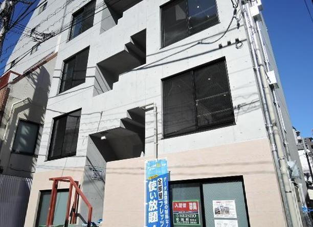 東京都新宿区、若松河田駅徒歩12分の築1年 4階建の賃貸マンション