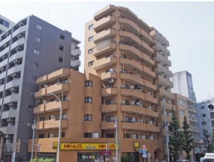 東京都新宿区、神楽坂駅徒歩5分の築33年 5階建の賃貸マンション