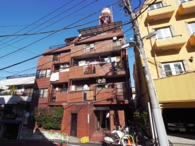 東京都文京区、後楽園駅徒歩9分の築36年 5階建の賃貸マンション