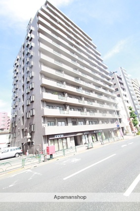 東京都文京区、茗荷谷駅徒歩12分の築29年 14階建の賃貸マンション