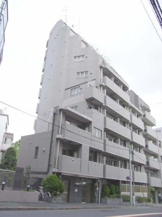 東京都新宿区、神楽坂駅徒歩9分の築16年 10階建の賃貸マンション