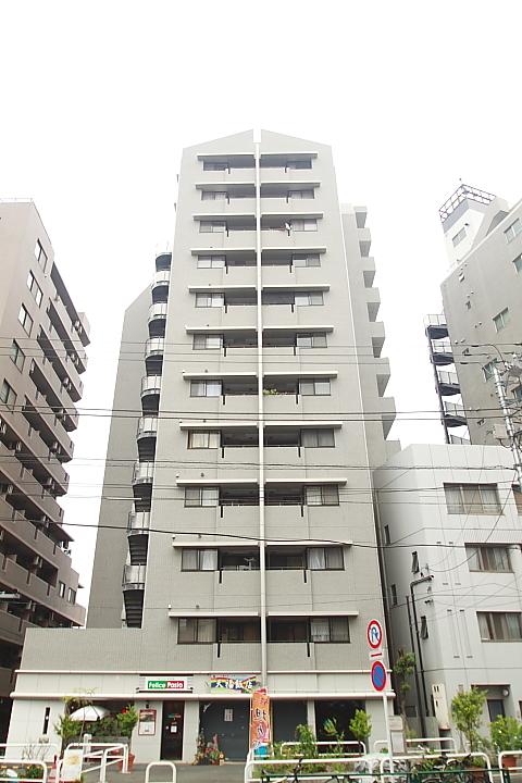 東京都文京区、日暮里駅徒歩11分の築24年 12階建の賃貸マンション