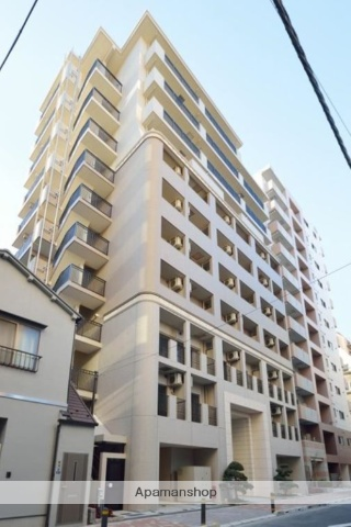 東京都中央区、水天宮前駅徒歩8分の築3年 11階建の賃貸マンション