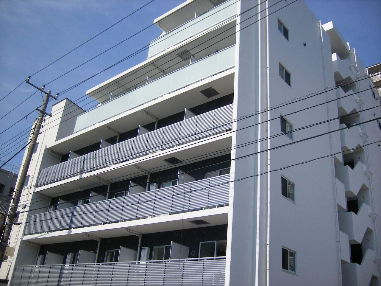 東京都江東区、越中島駅徒歩9分の築8年 8階建の賃貸マンション