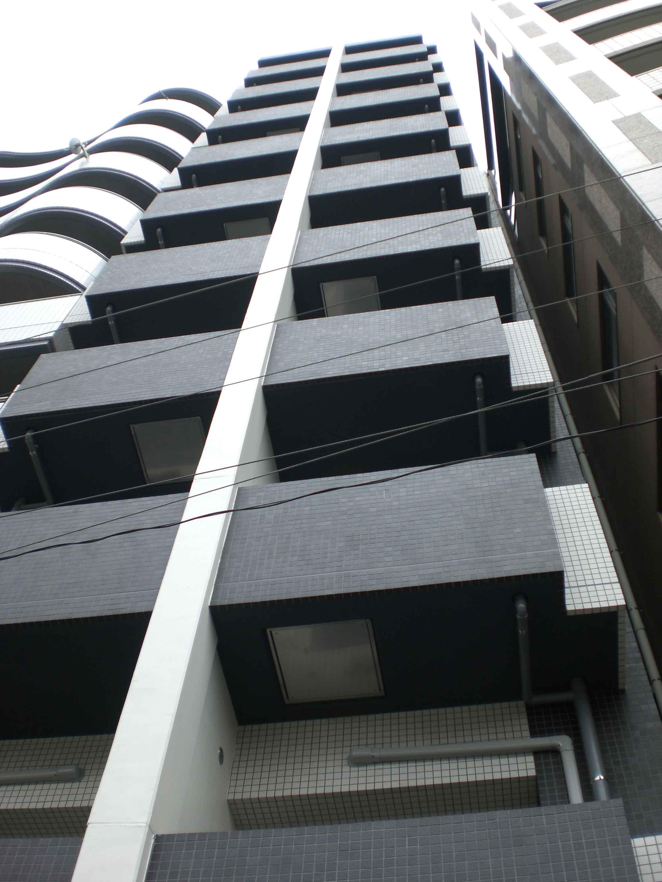 東京都中野区、東中野駅徒歩4分の築10年 10階建の賃貸マンション