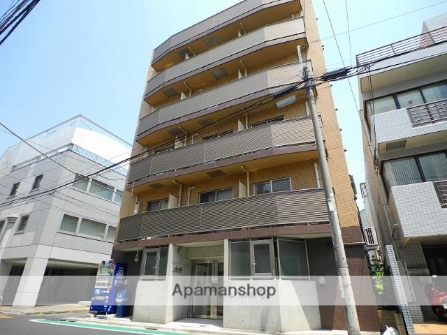 東京都新宿区、神楽坂駅徒歩10分の築10年 6階建の賃貸マンション