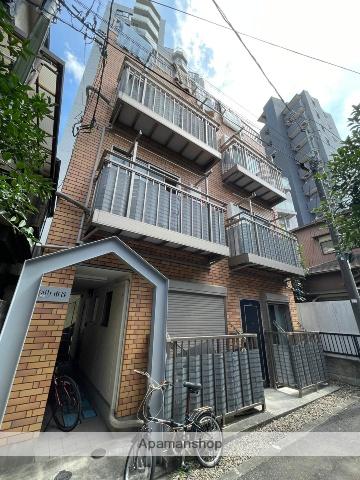 東京都新宿区、若松河田駅徒歩13分の築10年 4階建の賃貸マンション