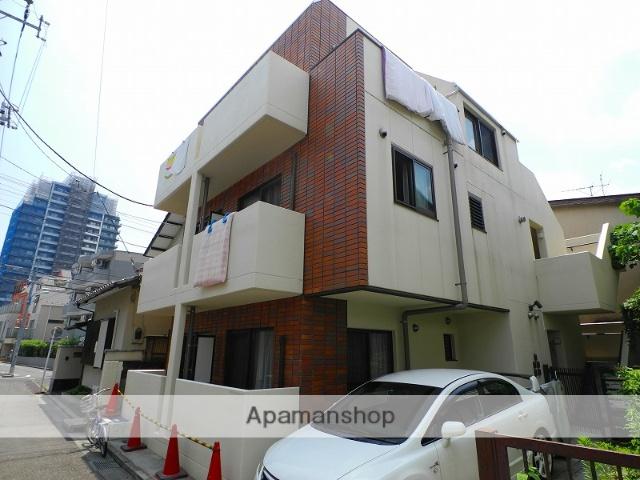東京都新宿区、神楽坂駅徒歩10分の築7年 3階建の賃貸マンション