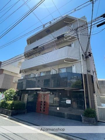 東京都新宿区、神楽坂駅徒歩11分の築9年 5階建の賃貸マンション