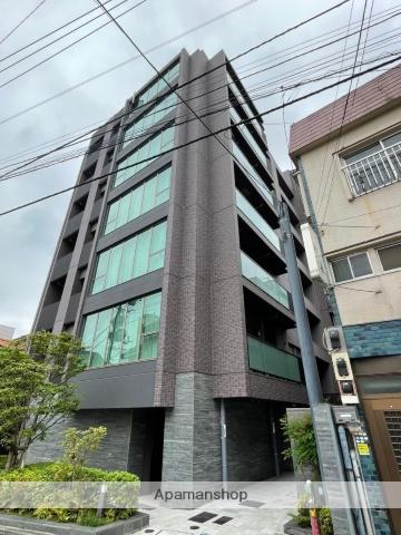東京都新宿区、神楽坂駅徒歩5分の築1年 7階建の賃貸マンション