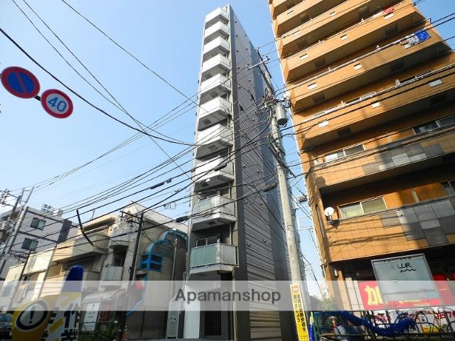 東京都新宿区、早稲田駅徒歩9分の築2年 11階建の賃貸マンション