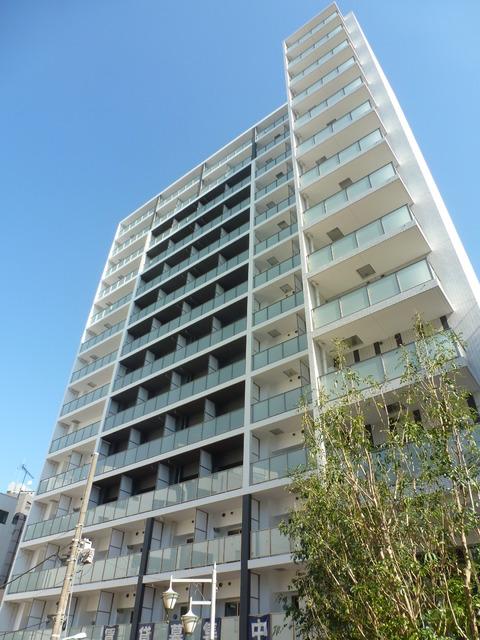 東京都渋谷区、恵比寿駅徒歩3分の築2年 14階建の賃貸マンション