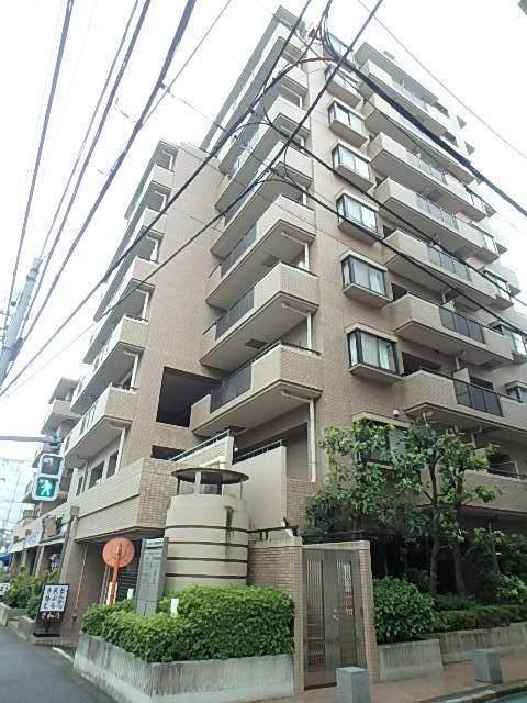 東京都中野区、東中野駅徒歩9分の築22年 10階建の賃貸マンション