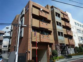東京都渋谷区、目黒駅徒歩17分の築20年 5階建の賃貸マンション