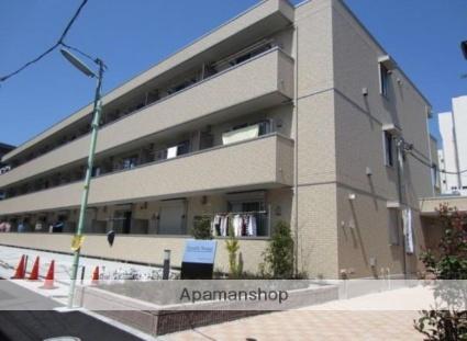 東京都杉並区、代田橋駅徒歩21分の築5年 3階建の賃貸アパート