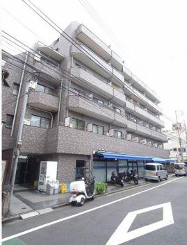 東京都新宿区、神楽坂駅徒歩7分の築24年 6階建の賃貸マンション