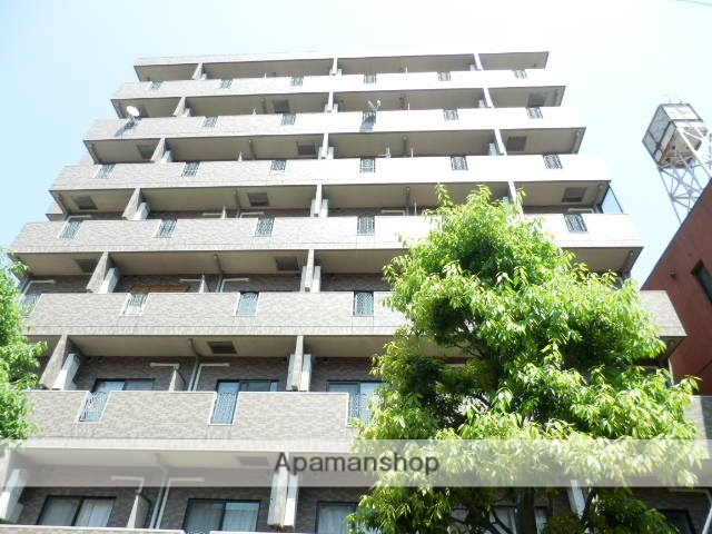 東京都新宿区、四ツ谷駅徒歩12分の築15年 8階建の賃貸マンション