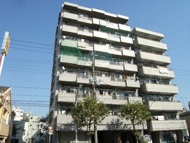 東京都台東区、浅草駅徒歩16分の築26年 8階建の賃貸マンション