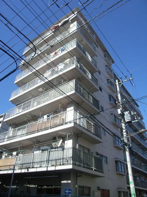東京都台東区、南千住駅徒歩7分の築36年 8階建の賃貸マンション