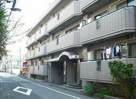 東京都文京区、日暮里駅徒歩12分の築25年 3階建の賃貸マンション