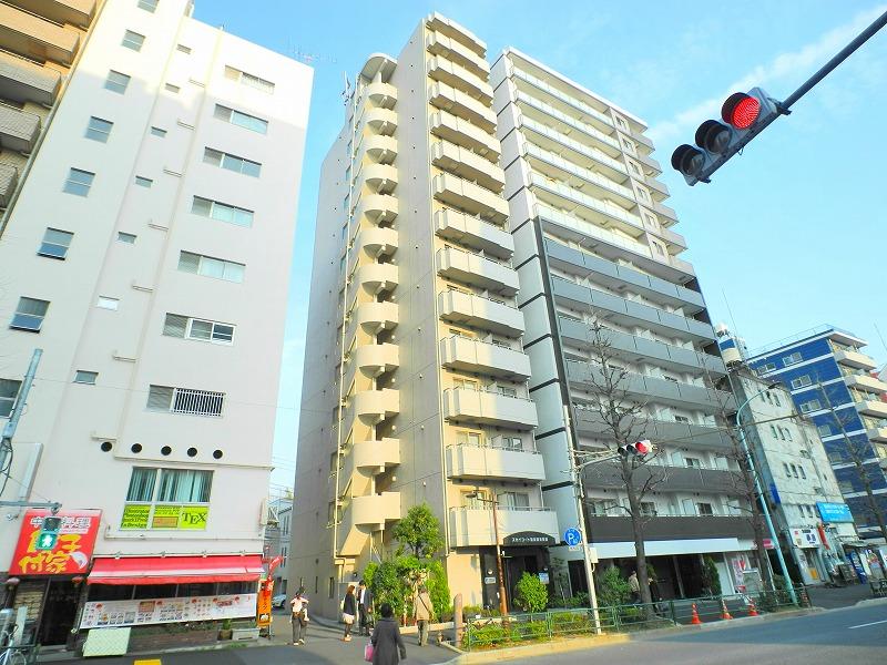 東京都文京区、後楽園駅徒歩10分の築10年 14階建の賃貸マンション