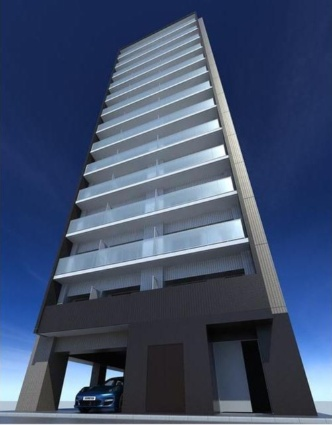 東京都台東区、御徒町駅徒歩7分の築1年 14階建の賃貸マンション