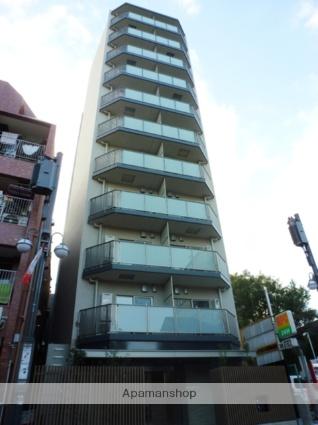 東京都品川区、品川駅徒歩10分の築3年 11階建の賃貸マンション