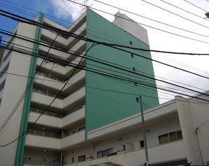東京都文京区、茗荷谷駅徒歩13分の築45年 9階建の賃貸マンション