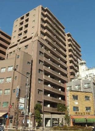 東京都台東区、鶯谷駅徒歩7分の築14年 14階建の賃貸マンション