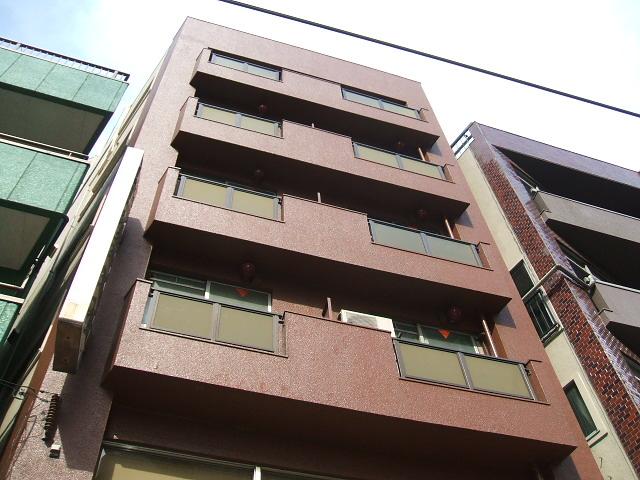 東京都台東区、浅草駅徒歩4分の築43年 6階建の賃貸マンション