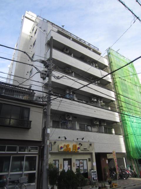 東京都台東区、上野駅徒歩4分の築32年 9階建の賃貸マンション