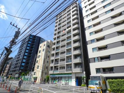 東京都新宿区、若松河田駅徒歩12分の築8年 13階建の賃貸マンション