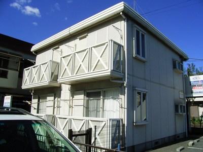 東京都府中市、北府中駅徒歩15分の築25年 2階建の賃貸マンション